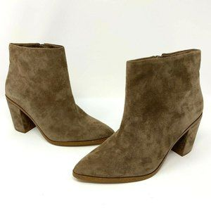 1. State Paven Pointed Toe Booties Size 5.5M Brown